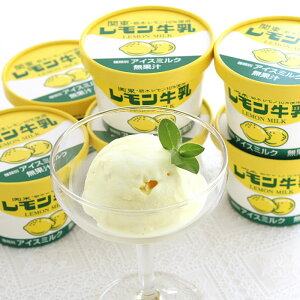 レモン牛乳アイス カップ12個セット [栃木県産品宇都宮市] FN020