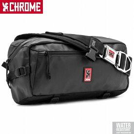 【送料無料】CHROME クローム KADET SLING BAG (カデット スリング バッグ)は、ミニマルな荷物の持ち運びに最適な、最新の全天候型アーバンベルトパック。耐久性はそのままに軽量化されたアルミニュウムバックル仕様背面にパッド入りのU字ロックホルスターを搭載バッグ
