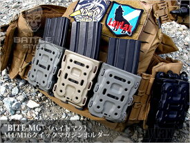 LAYLAX・Battle Style (バトルスタイル) M4/M16 クイックマグホルダー バイトマグ BK ライラクス