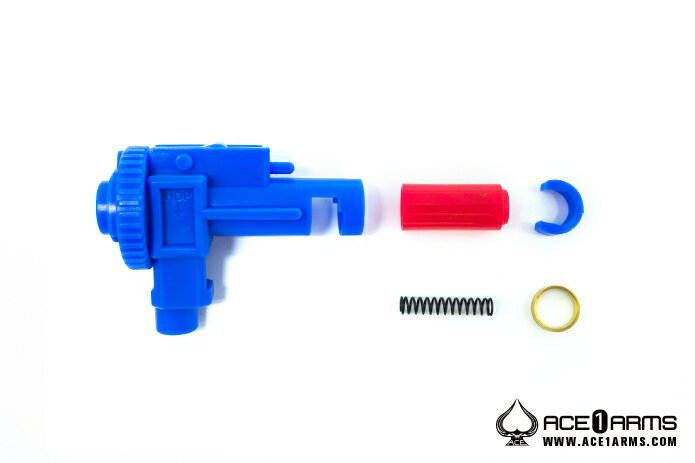 【ネコポス対応】ACE1 ARMS: 電内パーツ ポリカチャンバー M4用【エアガン,エアーガン,サバイバルゲーム,サバゲー,18歳以上,おもちゃ,銃,トイガン】