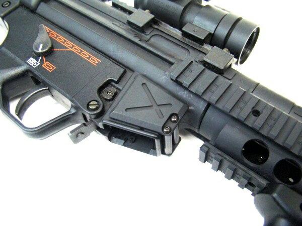 【ネコポス対応】LAYLAX・F-FACTORY (ファーストファクトリー):MP5 マグキャッチプラス Ver2 ライラクス