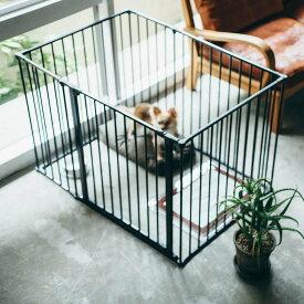 スカンジナビアンペットケージXL 6枚セットスチール製 Scandinavian Pet Design小型・中型犬用サークル 北欧 ドッグサークル ドッグケージ ペットケージ ペットサークル おしゃれ 犬 ケージ 犬 サークル 折りたたみ