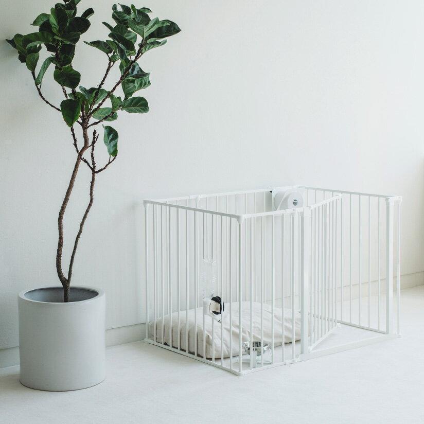 スチール製 Scandinavian Pet Design小型・中型犬用サークル 6枚セットスカンジナビアンペットケージXL