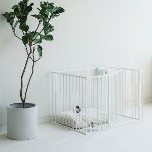 スカンジナビアンペットケージXL 6枚セットスチール製 Scandinavian Pet Design小型・中型犬用サークル ペットケージ ペットサークル 北欧 ドッグサークル ドッグケージ おしゃれ 犬 ケ