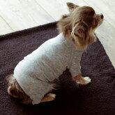 犬/服/コットンパイルニットパジャマ