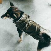 犬/服/シャイニーレインコート