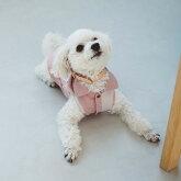【犬服】【ドッグウェア】バイカラーシャツ犬服おしゃれシャツ高級シンプルラガーシャツいぬ洋服ウェアドッグ