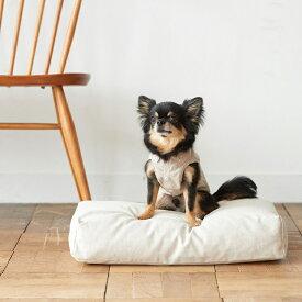 【犬 ベッド】ウォッシャブル リネン ベッド S サイズ犬・猫ベッド ペット用ベッド ラウンド型ベッド ブラック bed 洗える リネン ふかふか 国産