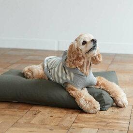 【犬 ベッド】ウォッシャブル リネン ベッド M サイズ 犬用フリーステッチ おしゃれ マット 洗える シンプル 日本製 リネン 夏