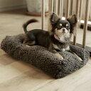 シンプル シープ ボア フリース ベッド S サイズ 犬