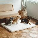犬/ベッド/シンプルシープボアフリースベッド