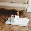 【犬 マット】シープ ボア フリース デュアル ウェーブ ベッド M サイズペットベッド 犬用 ハウス ペットハウス 冬 小…