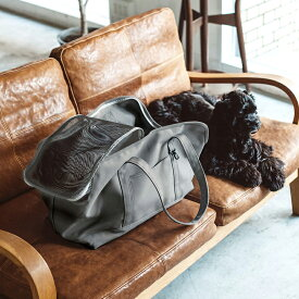 【犬 キャリー】スクエア トート ハンプ ソリッド LL サイズ 犬ペット用品 愛犬用 ブラック カーキ 中型犬用 お出かけバッグ キャリーバッグ