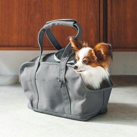 スクエア トート キャンバス ソリッド S サイズ 犬 お出かけに便利なスクエアタイプのトートバッグ 犬用バッグ キャリー バッグ 犬 鞄 おしゃれ シンプル 日本製
