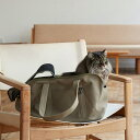 スクエア トート ハンプ ソリッド Mサイズ 猫用キャリー ネコ 猫 病院 シンプル 人気 おしゃれ 日本製 かばん