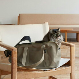 【猫 キャリー】スクエア トート ハンプ ソリッド Mサイズキャリー 鞄 バッグ キャリーバッグ ネコ 猫 子猫 病院 通院 シンプル 人気 おしゃれ 日本製 かばん 電車 車 洗える 洗濯 日本 トートバッグ 動物 ペット