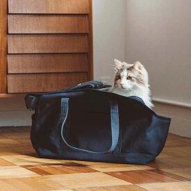 スクエア トート ハンプ ソリッド Lサイズ 猫大きい猫 キャリー 猫 ネコ かばん おしゃれ 日本製 シンプル 人気 軽い