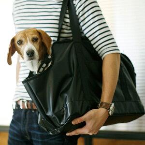 【犬 キャリー】スクエア トート ターポリン L サイズ 犬キャリーバッグ 犬用品 犬 いぬ イヌ ドッグ dog グッズ ペット ペット用品 肩掛け メッシュ アウトドア お散歩 外