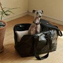【犬 キャリーバッグ】小型犬 キャリーバック スクエアトート ターポリン Mサイズ carry bag free stitch