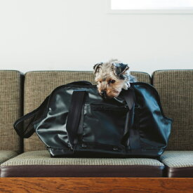 【犬 キャリー】スクエア トート ターポリン S サイズキャリーバッグ キャリーケース 犬 キャリーバッグ キャリーケース シンプル 防水 雨 キャリー アウトドア