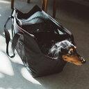 【犬 キャリーバッグ】バルコディスクエアトート Lサイズ キャリーバック carry bag free stitch