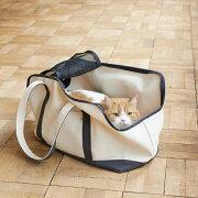 猫/キャリーバッグ/carry/bag/スクエアトートLサイズ