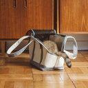 猫のキャリーバッグスクエアトート Mサイズ【ネコ/キャリーバッグfree stitch/キャリーバック/carry bag/キャリーバッグ】