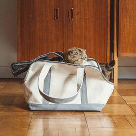 スクエア トート ハンプ ツートン Sサイズ 猫