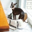 【犬 キャリーバッグ】スクエアトート Lサイズ キャリーバック carry bag free stitch