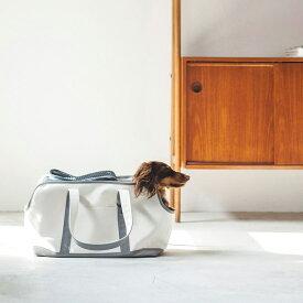 【犬 キャリーバッグ】スクエア トート ハンプ ツートン M サイズキャリーバッグ・キャリーバック/コンテナ小型犬用キャリーバッグ 犬用品 ペット用品