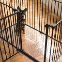 【犬 サークル】サークル シート レクタングル XXLスチール製 ケージ ゲージ 簡単 かんたん ドッグ犬用品 サークル スタイリッシュ