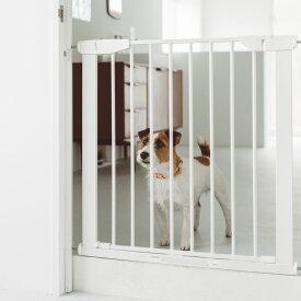 【犬 ゲート】スタイリッシュ ドッグ プレミアゲート アイアン製のサイズ調整自由なフェンスゲート フェンス おしゃれ シンプル つっぱり 北欧風 アイアン ペットフェンス ドッグフェンス ゲート ベビー ガード 柵 階段 パーテーション 北欧デザイン