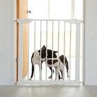 【犬ゲート】スタイリッシュドッグゲートアイアン製のサイズ調整自由なフェンスゲートフェンスおしゃれシンプルスタイリッシュドッグ犬つっぱり柵飛び出し防止