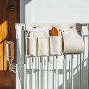 【犬サークル】サークルサイドストレージバッグスチール製ケージゲージ簡単かんたんドッグ犬用品サークルスタイリッシュ