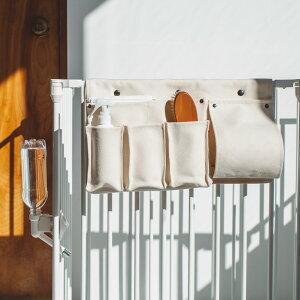 【犬 サークル】スタイリッシュドッグ サークル ストレージ バッグ(ホワイト) スチール製 ケージ ゲージ 簡単 かんたん ドッグ犬用品 サークル インテリア 道具入れ お手入