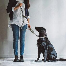 【犬 リード】リフレクティブ マルチパーパス リード L