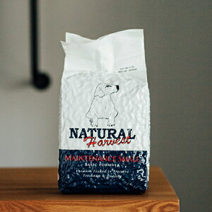 生ラム肉を使用したプレミアムフード アレルギーを考慮し、原材料を厳選!ナチュラルハーベスト ベーシックフォーミュラ メンテナンススモール7ポンド (1.59kg×2)
