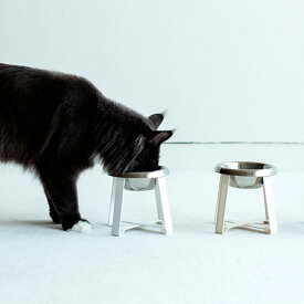 pecolo Food Stand S(Tall) フードボウルスタンド 猫 フードボウル