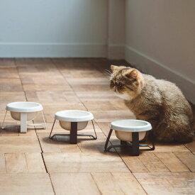pecolo Food Stand S 陶器 フードボウルスタンド 猫 フードボウル