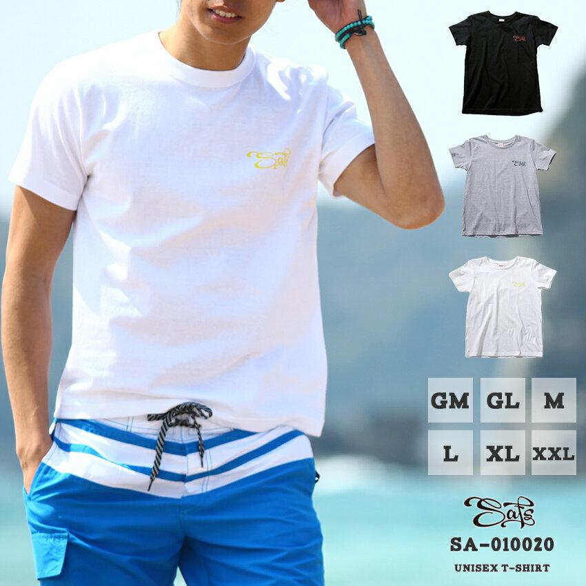 丸首Tシャツ ユニセックス SAFSロゴ 西海岸 カリフォルニアスタイル アーバンサーフ sa-010020