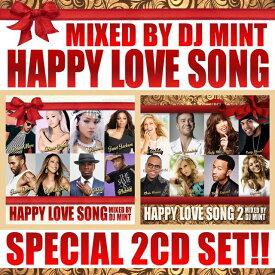 【心あたたまる名曲ラブソング2枚組セット!】DJ Mint / HAPPY LOVE SONG 1&2 SPECIAL 2CD SET [DMTSET-03]