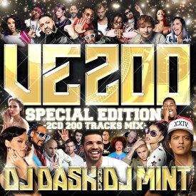 【大人気新譜MIX VE200 特別盤!!100曲×2枚組】DJ DASK & DJ Mint / DJ DASK Presents VE200 -Special Edition-(2枚組)[VECD-100]