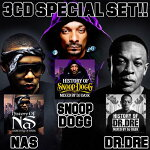 【SNOOPDOGG、NAS、Dr.Dreのベストセット!!】DJDASK/HISTORYOFSNOOPDOGG、NAS、Dr.DreSPECIALSET[DKHOSET-02]