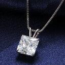 ニューヨーク デザイナーズ ホワイト ゴールド ネックレス レディース プリンセス カラット ジュエリー プレゼント
