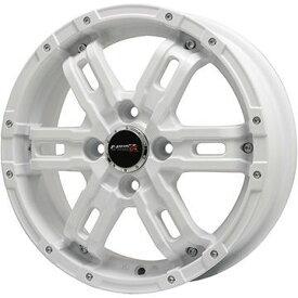 【取付対象】 【送料無料】 165/45R16 16インチ BIGWAY B-MUD Z(ホワイト) 5.5J 5.50-16 DUNLOP ダンロップ ルマン V(ファイブ) サマータイヤ ホイール4本セット