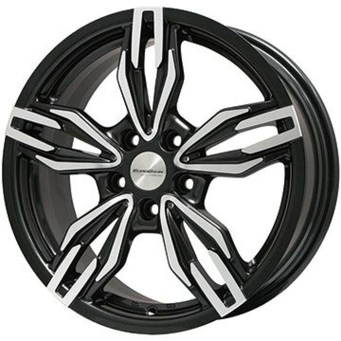 【送料無料BMW5シリーズ(G30)】YOKOHAMAヨコハマアイスガードシックスIG60225/55R1717インチスタッドレスタイヤホイール4本セット輸入車BIGWAYEUROBAHNbySPORTTECHNICVTX(ブラックポリッシュ)7.5J7.50-17