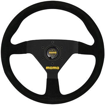 【在庫限り直輸入品】送料無料(一部離島除く) MOMO モモ ハンドル ステアリング MOD.78 モデル78 32Φ 新ロゴ ブラックスエード/ブラックスポーク