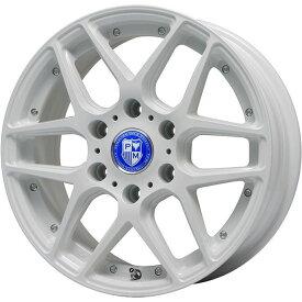タイヤはフジ 送料無料 NV350キャラバン PREMIX プレミックス ミュンスター(ホワイト) 7.5J 7.50-18 KENDA ケンネティカ KR201 215/55R18 18インチ サマータイヤ ホイール4本セット