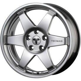 【送料無料 ジュリエッタ】 FALKEN ファルケン エスピア W-ACE 205/55R16 16インチ スタッドレスタイヤ ホイール4本セット 輸入車 TECMAG TYPE 206R 7.5J 7.50-16