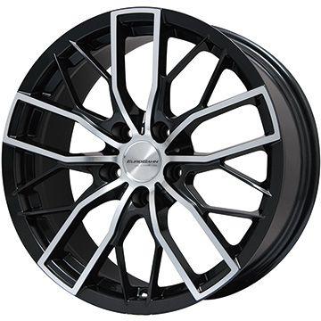 【送料無料 BMW X3(F25)】 DUNLOP ダンロップ ウインターマックス 01 WM01 225/60R17 17インチ スタッドレスタイヤ ホイール4本セット 輸入車 BIGWAY EURO BAHN by SPORTTECHNIC MT-X(パールブラックポリッシュ) 8J 8.00-17【DUwin18】